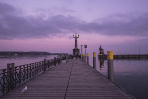 Port Lake Evening Constance
