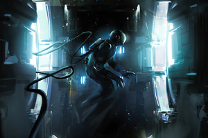 Portal Dayscience Fiction 5k Wallpaper