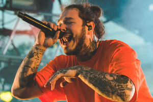Post Malone Performing Live 4k Wallpaper