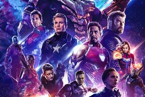 Poster Avengers Endgame 2019