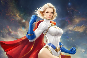 Power Girl 4k Wallpaper