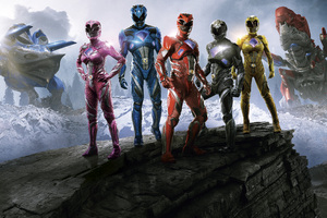 Power Rangers 12k Wallpaper