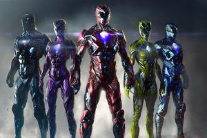 Power Rangers Art