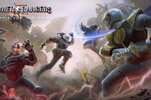 Power Rangers Battle For The Grid 5k Wallpaper