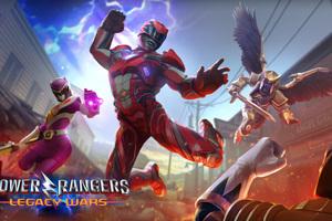 Power Rangers Legacy Wars 4k Wallpaper