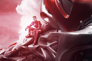 Power Rangers Zord Red