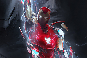 Powerful Iron Man 4k