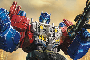 Powermaster Optimus In Transformers Titans Return Wallpaper