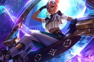 Prestige True Damage Qiyana League Of Legends 4k