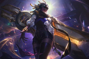 Prestige True Damage Senna League Of Legends 4k Wallpaper