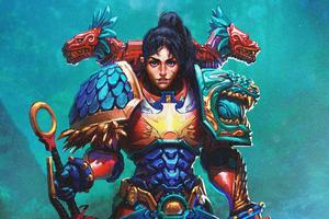 Primarch Tlatia Warhammer 40k Wallpaper