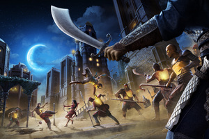Prince Of Persia The Sands Of Time Remake Game Wallpaper