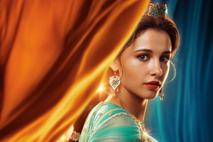 Princess Jasmine In Aladdin 2019 5k Wallpaper