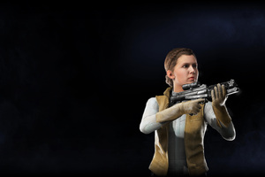 Princess Leia Star Wars Battlefront II 2017
