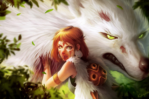 Princess Mononoke 4k Wallpaper
