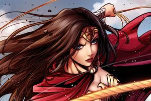 Princess Wonder Woman 5k Wallpaper
