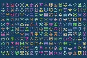 Procedural Generation Digital Art Pattern Wallpaper