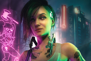 Projekt Red Cyberpunk 2077 5k Wallpaper