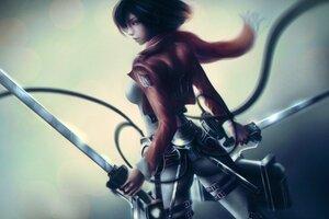 Protagonist Anime Girl
