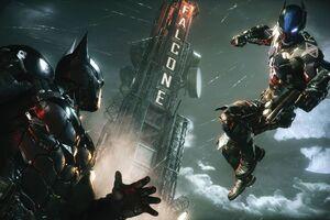 Ps4 Batman Arkham Knight 4k Wallpaper