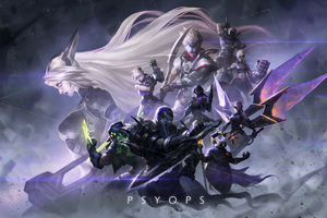 Psyops League Of Legends Wallpaper