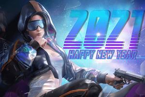 Pubg 2021 Happy New Year Wallpaper