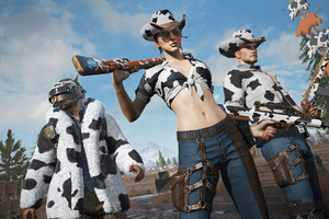 Pubg 2021 New Year Of The Cow Skin 4k