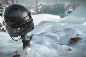 Pubg 4k Helmet Wallpaper