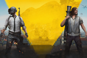 Pubg And The Walking Dead Wallpaper