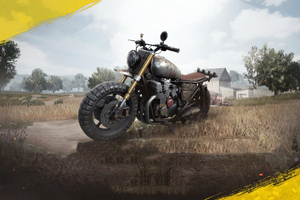 Pubg Bike 4k Wallpaper