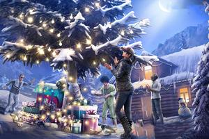 Pubg Game Squad Christmas