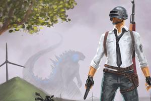 Pubg Helmet Guy 4k Art Wallpaper