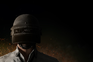 PUBG Helmet Guy 4k