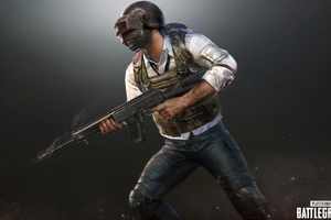 PUBG Helmet Guy