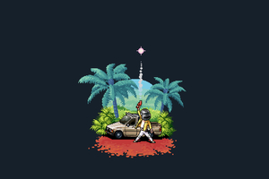 Pubg Pixel Art 4k Wallpaper