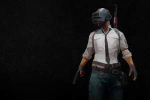 Pubg Polygon Arts Wallpaper