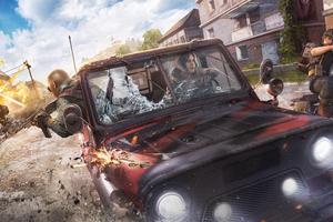 Pubg Season 4 Car Chase 8k Wallpaper
