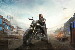 Pubg Walking Dead 4k Wallpaper
