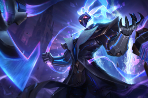 Pulsefire Thresh League Of Legends Splash Art Wallpaper