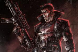 Punisher 2020 4k Wallpaper