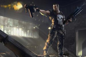 Punisher 4k Artwork Wallpaper