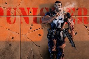 Punisher Comic Book Marvel 4k Wallpaper