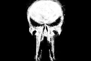 Punisher Paint Art