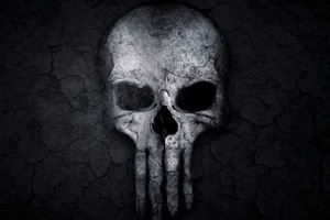 Punisher Skull Artwork Wallpaper