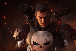 Punisher X War Machine 4k