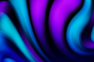 Purple Blue Moving Down Abstract 4k