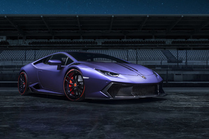 Purple Lamborghini 4k 2019