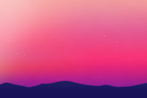 Purple Landscape Scenery Minimalist 4k Wallpaper