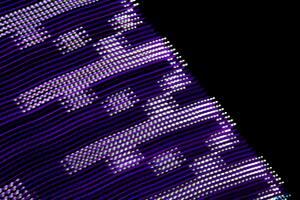 Purple Level Midnight 4k