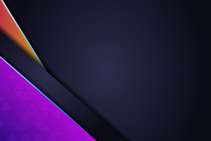 Purple Material Design Abstract 4k